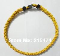 DHL free shipping baseball stitch ncklaces,softball stitch necklace