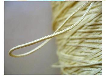 Free Shipping 1000M 200LB aramid braid kite line aramid rope 6 strand high tempreture resistant 1.4mm