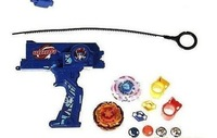 beyblade launch, beyblade launcher set hot sale  for christmas  color: red, blue , black