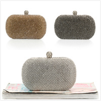 Luxury Diamond Evening Bags Classic Rhinestone Day Clutch For Lady  Recommend for Everyone Gold/Silver/Black NO1227