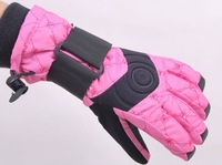Free Shipping Winter Sports Gloves (Pink)- Women's Ski Gloves,women's Winter hiking Gloves,Water-Proof,Breathable