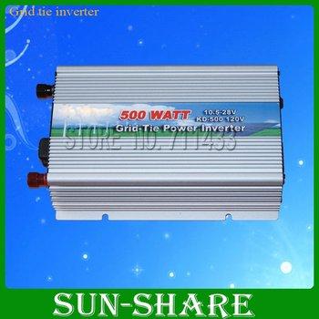 DHL free shipping!  500w wind /solar grid tied inverter DC 15V-30 .AC 110V,120V,130V,210V,220V,230V
