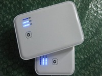 5000mAh battery backup 5V 1000mA portable power bank for various tablet pc and cell phone with double USB port