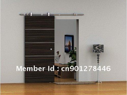 Com buy european modern sliding barn door hardware for wood door