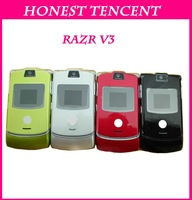 Singapore Post shipping Honest Tencent&v3  unlocked original RAZR phone with original Russian keyboard Support