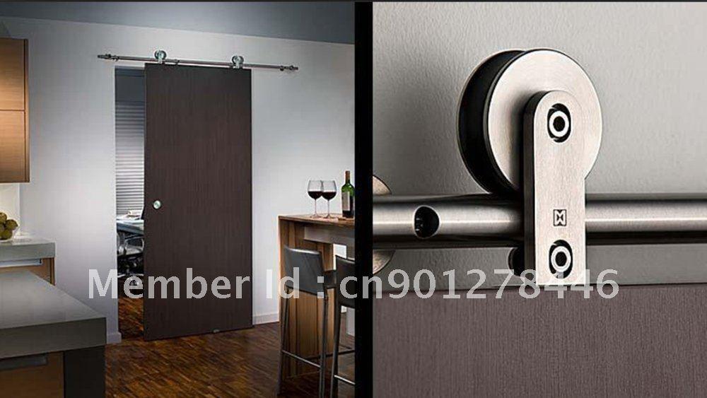Modern Barn Style Sliding Wood Door