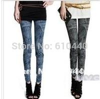 hot selling ! Blue Black Sexy woman's leggings fashion pantyhouse lasides leggings