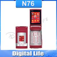 N76 Brand Original Nokia N76  2MP Jave Bluetooth Unlocked Mobile Phone Free Shipping In Stock!!!