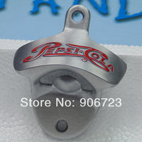 10 pcs PEPSI Cola Metal Polished Wall Mount Bottle opener wall mounted openers free shipping