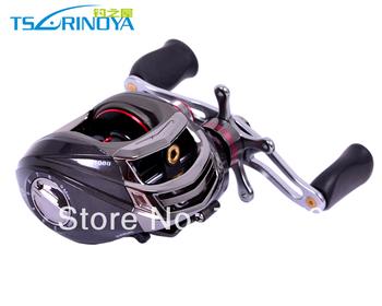 Trulinoya DW1000 Left  Hand Baitcasting Fishing Reel  10+1BB  Black Color