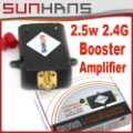 Direct Marketing Sunhans 2.5W 2.4GHz 34DBi support 802.11N/b/g signal ,Amplifiers,Booster,wifi extender repeater for wif