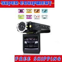 "New HD-185C 2.5"" TFT LCD Vehicle Car Camera HD DVR Dashboard Recorde Car Black Box Free Shipping UPS DHL EMS CPAM HKPAM"