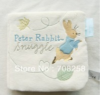"1PCS- Baby Educational Toys, Infant Soft Cloth book ""NIGHT NIGHT PETER RABBIT"" 754#"