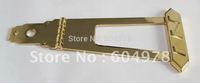 6 Strings Jazz Bass Guitar Tailpiece Bridge - Golden