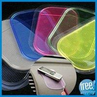 Free shipping via DHL+Wholesale 2000pcs/CTN, car anti slip mat,sticky pad, anti slip Pad for car for phone slip mat sticky pad