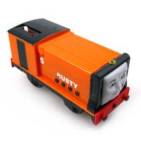 T0169 wholesale Chinldren child boy girl toy gift Thomas and friend Trackmaster engine Motorized train rusty
