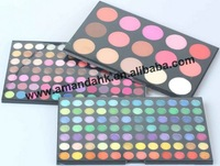 2012 New 183 Colors Eye Shadow Palette 3 Layers 168 Eyeshadow + 15 Blusher 12pcs/lot Makeup