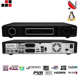 vu+ duo twin tuner s2 hd tv receiver satellite set top box