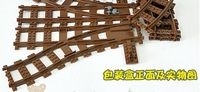 Enlighten DIY Educational Children Assembling Plastic Convert Tracks for Enlighten Train Blocks toy,free shipping
