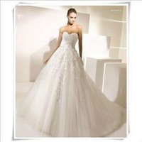 Free Shipping 2013 New Arrival Yuron Bridal Wedding Dress,Wedding Gown