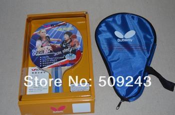 New 1pcs Butterfly Table tennis bat  Ping pong racket Butterfly Tables With table tennis bag  Fast shipping TBC 402