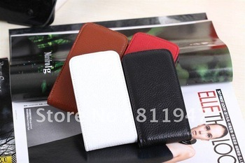 New for iphone4 4 s top pure leather manufacture process of mobile phone protection shell This is a high-end positioning product
