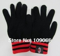 acmilan thick gloves / ac milan autumn and winter knitting wool gloves