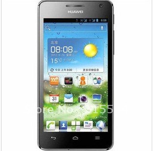 free shipping Huawei U8950D Ascend G600 phone dual-core 1228MHZ cpu 8.0M camera 4.5inch QHD screen 768MB RAM 4GB ROM
