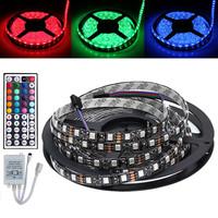 5M 5050 RGB Waterproof 500CM Flexible Strip 300 LED Light + 24 Key IR Controller control Box + Free Shipping
