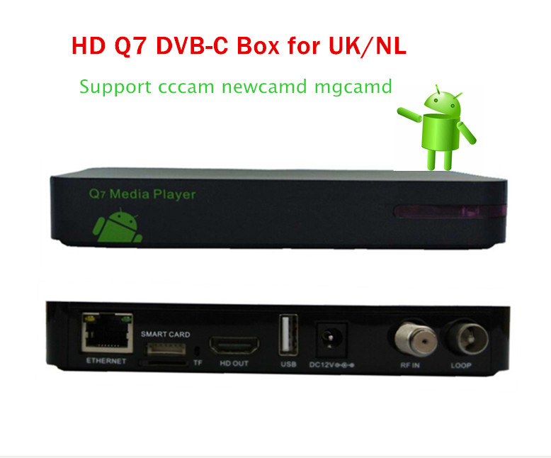 Q5C cable set top box Digital DVB-C Cable MPEG-4/H.264 receiver with Multi CAS conax sharing(China (Mainland))