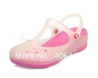 Best selling!!Summer beach clogs wide shoes woman color changed shoes Free shipping 1pair