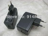 10pcs /lots  EU   AC 100-240V /DC 5V 2A USB Wall Home Office Charger Adapter