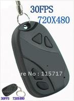 free shipping! Mini Camcorder Car Key Video DVR Covert Camera DV 808
