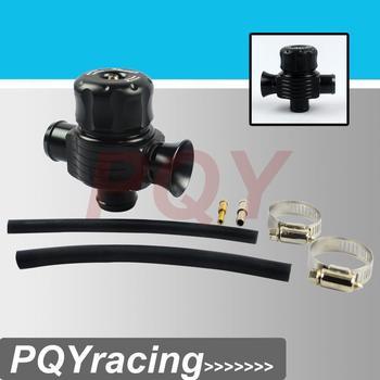 High performance parts, auto racing turbo aluminum blow off valve / blow off adaptor black