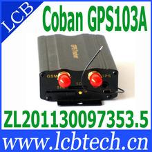 Easy install car gps tracking system Vehicle GPS Tracker TK 103A 4pcs/lot(China (Mainland))