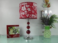 Red fabric lamp series