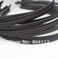 50pcs 5mm Double Face Ribbon Covered Satin Ribbon  Headband Hairband