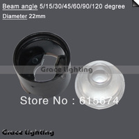 Free shipping+ LED Lens surpporting, diameter 20mm, Materials ABS, Temperature: -30 to +90 degree,  White, Black, Transparent