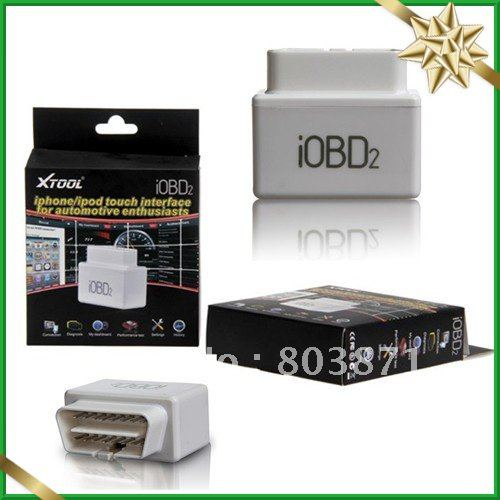 Private Car Manager iobd2 vehicle diagnostic tool car communicates with smart phones by WIFI / Bluetooth(China (Mainland))