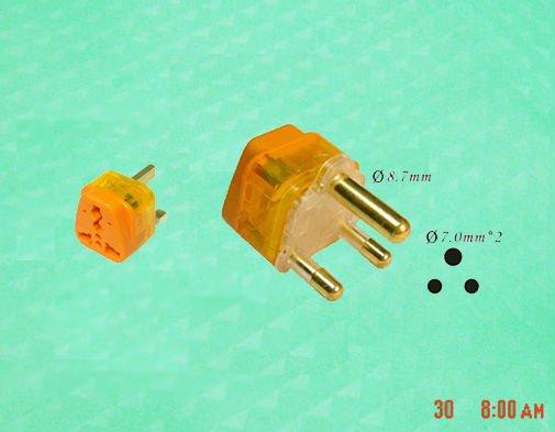 south africa plug adapter big pin type(China (Mainland))