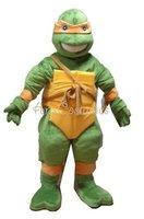 High Quality teenage mutant ninja turtles mascot costume free shipping