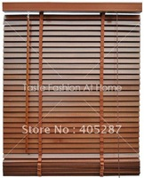 35mm High profile import basswood real wood blinds custom made