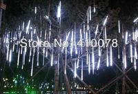 Free shipping 30CM christmas lights,Meteor Shower Rain Tubes LED Light for Party Wedding Decoration 110-220V White/Blue EU Plug