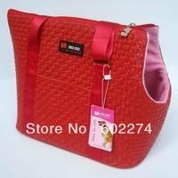 High quality print quality dual-use pet bag portable bag folding pet bag China brand pets carries