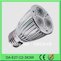 TUV E27/E26 9W led spotlights