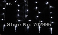 Icicle lights 4x0.6Meter 120leds LED Christmas string Lights,End to End,6colors