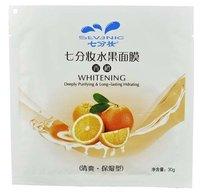 (25pcs/lot)Facial Mask, Orange Fresh Conditioning Acne Mask