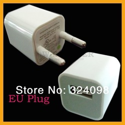 FREE SHIPPING US/EU/AU Plug AC Power Supply Wall Adapter USB Charger for IPHONE 5G 4G 4 3G cell phone(China (Mainland))