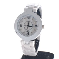 Free Shipping Diamond Inlay Ceramic Band Women's Ceramic Watch Quartz Watches Ladies' Wristwatches