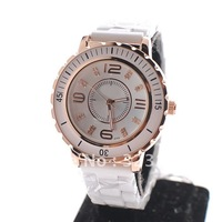 Free Shipping Diamond Dial Ladies Ceramic watch Women's Wristwatch for Girl's Gift